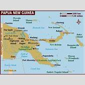 Map of Papua Ne...