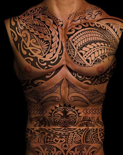 full body tribal tattoos 52 best polynesian designs with meanings