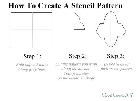 How To Make A Stencil With Tracing Paper - livelovediy diy stencil sharpie pillow