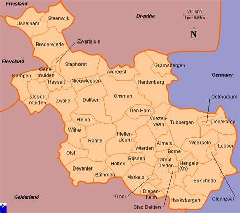 holten netherlands map clickable map of overijssel former divisions netherlands