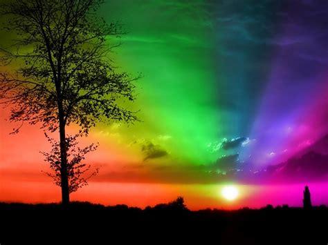 imagenes naturales de arcoiris deslumbrantes colores del arco iris del cielo fondos de