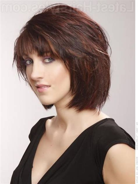 hairstyles chin length with bangs chin length bob haircuts layered chin length bob with