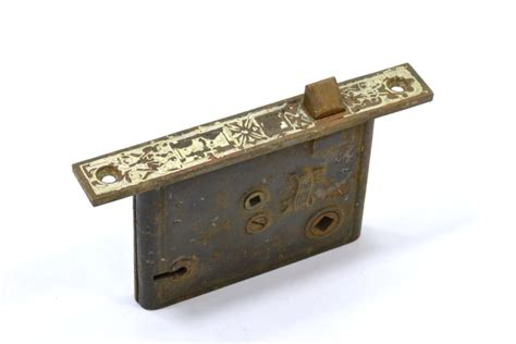 Mortise Door Hardware by Vintage Antique Mortise Locks Aged Rusted
