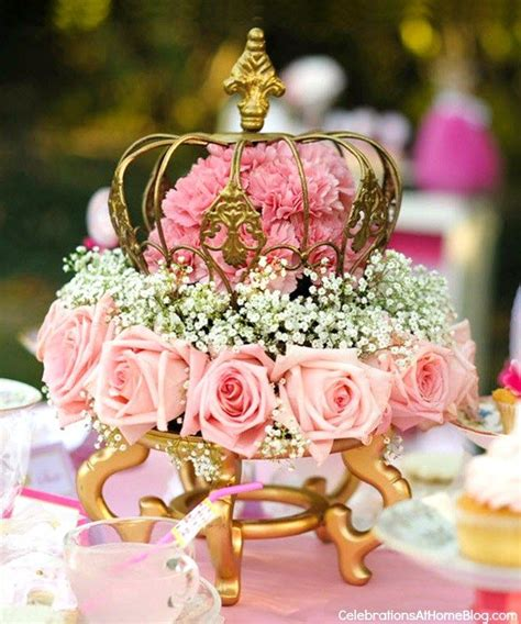 princess centerpieces pink princess tea styled shoot centerpieces