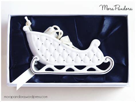Ornamen Charm 14 feature pandora sleigh ornament 2014 mora pandora