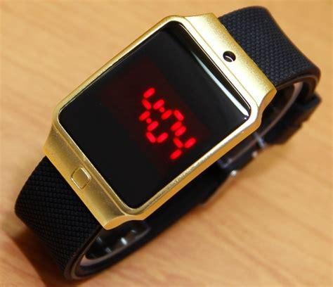 Jam Tangan Unisex Samsung Touch Screen Black jual jam tangan adidas touch screen rubber black gold emgus