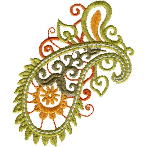 free embroidery templates free embroidery design paisley 1