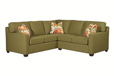 two piece couch kincaid furniture brooke two piece sectional sofa becker