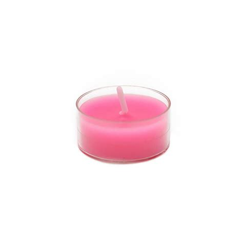 Pink Candles Zest Candle 1 5 In Pink Tealight Candles 50 Pack