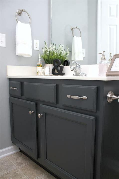 painting bathroom cabinets ideas  pinterest