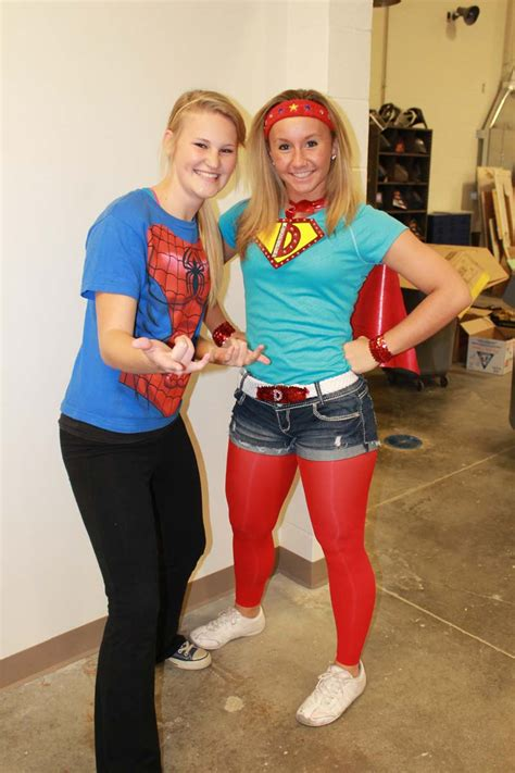 spirit week superhero day