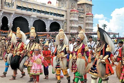 mysore dasara walking  karnataka india