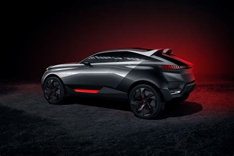 peugeot quartz peugeot quartz concept cars peugeot design lab