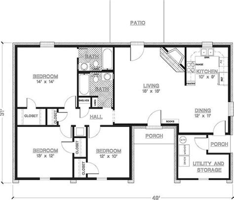 1350 Sq Ft House Plan Modular Homes Floor Plans 1350 Square 3 Bedroom 2 Bathroom Search New Plans