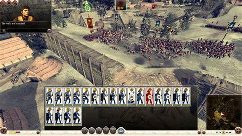 total siege total war rome ii iceni vs rome gameplay siege battle