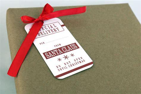 Free Printable From Santa Gift Tag New Calendar Template Site Santa Gift Tags Template