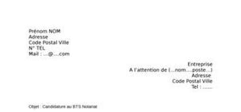 Exemple De Lettre De Motivation Bts Notariat Exemple De Lettre De Motivation Gratuite Pour Un Bts En Alternance