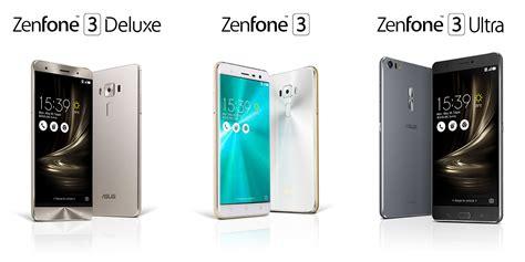 Zenfone 3 Deluxe asus zenfone 3 comparatif des six versions max laser
