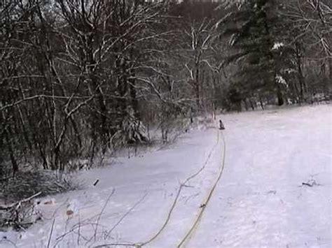 backyard ski lift ski tow