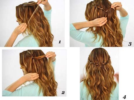 Hairstyles Easy To Do On Yourself | easy do it yourself hairstyles for long hair