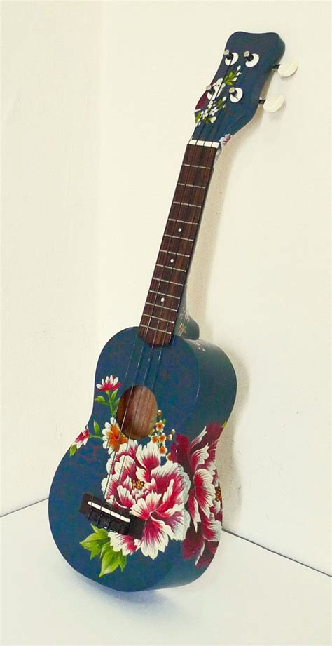 ukulele design instagram artist painted ukulele etsy favorites pinterest