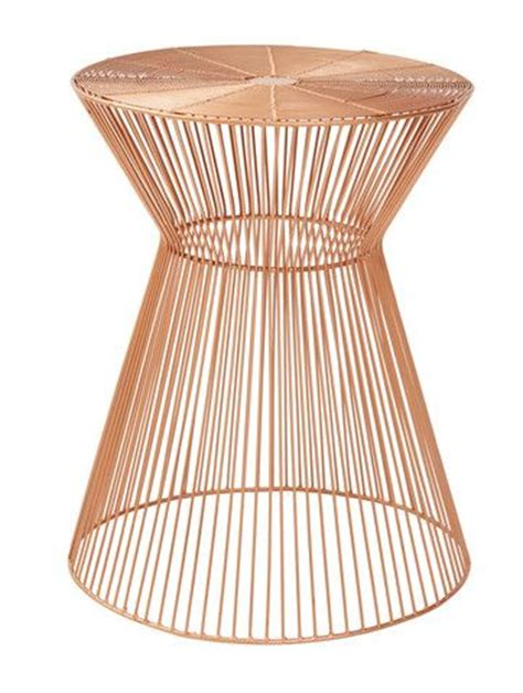 Wire Stool Side Table by 1000 Ideas About Copper Side Table On Side