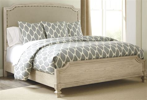 demarlos cal king upholstered panel bed from b693
