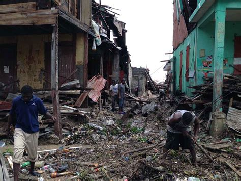 Needs Damage by After Matthew We Need Your Help To Battle Cholera In