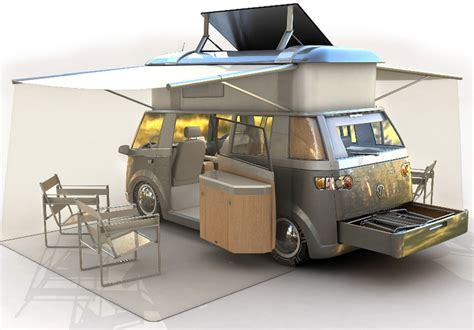 volkswagen concept van reinventing the vw microbus for the eco age wired