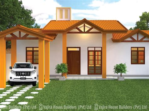Single Storey Floor Plan by Vajira House Builders Private Limited Best House