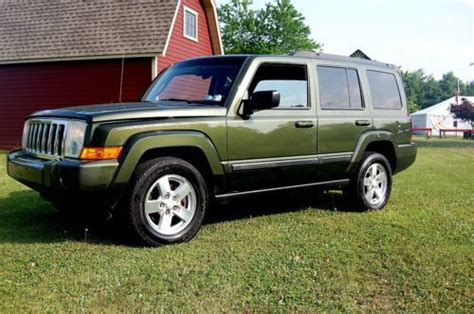 2007 Jeep Commander Mpg Buy Used No Reserve High Mileage 2007 Jeep Commander 4