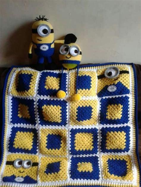 pinterest minion pattern minion granny square pattern blanket pinterest best ideas