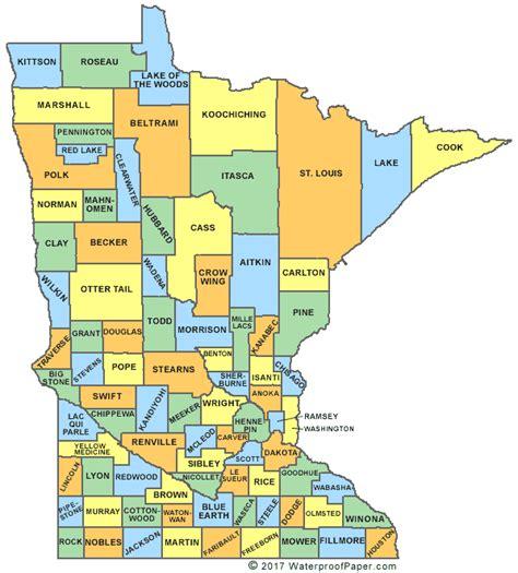 minnesota maps printable minnesota maps state outline county cities