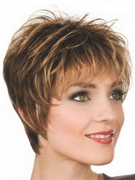 short hair wigs for women over 50 short spiky wigs for women over 50 short hairstyle 2013