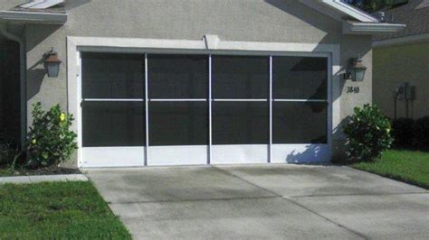 Sliding Garage Door Screen Kits Garage Screen Doors Garage Aire Slider Brothers Garage Door Screens Gallery Skyview Retractables