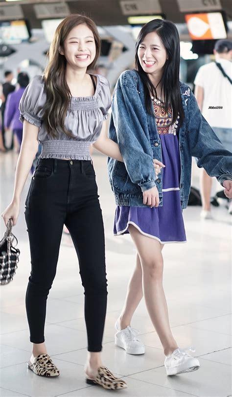 blackpink fashion airport i love jennie s airport fashion so much 171127 blackpink