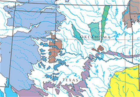 seymour texas map seymour aquifer