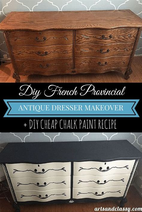 Repurposed Bedroom Furniture Makeover Edition Vintage Bedroom Dresser Makeover Dresser Makeovers Antique Dressers And Paint