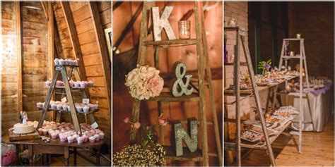 Winter Home Decorating Ideas 22 Rustic Country Wedding Decoration Ideas With Ladders