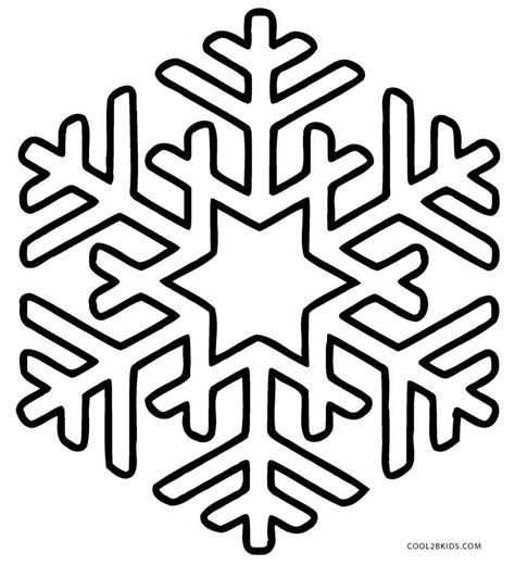 Coloring Page Of printable snowflake coloring pages for cool2bkids
