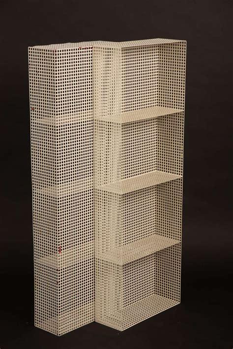 metal room dividers mategot pilastro metal room divider or wall unit at 1stdibs