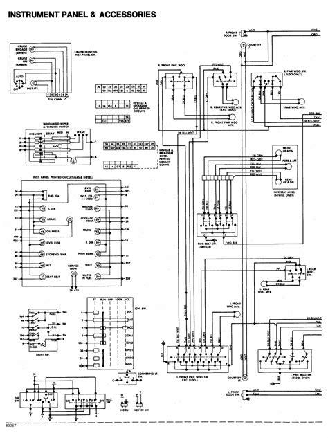 cadillac deville factory amp wiring diagram  wiring diagram