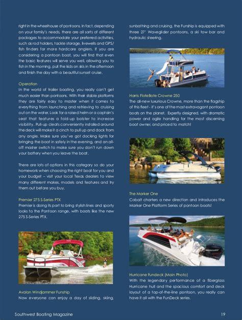 boating magazine customer service southwest boating magazine vol 1 issue 2