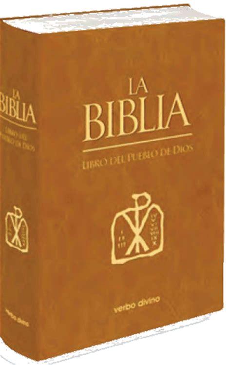 editorial verbo divino la biblia libro del pueblo de dios