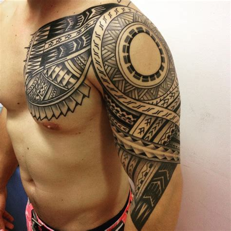 tribal samoan tattoos 60 best designs meanings tribal