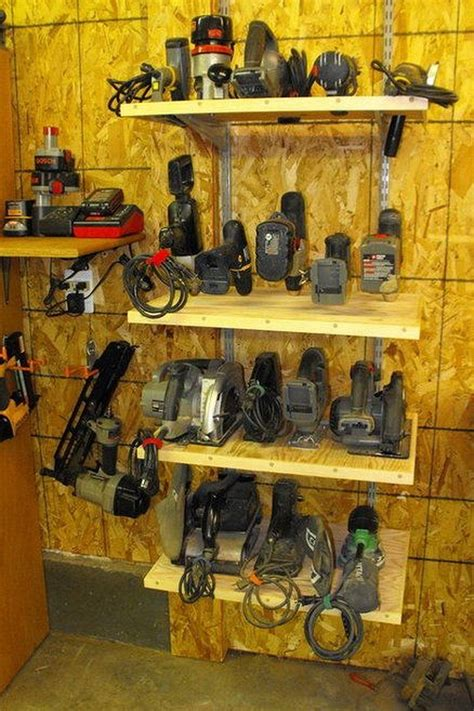 workshop storage organisation inspiratons power tool