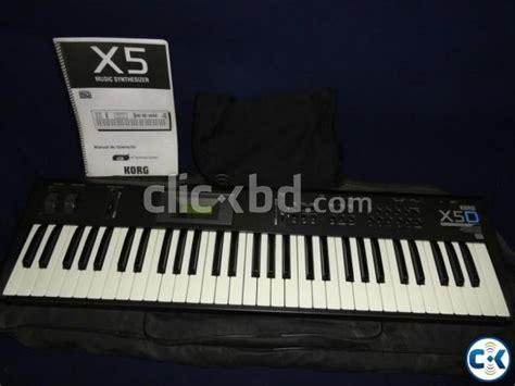 Keyboard Korg X5d Second korg x5d keyboard clickbd