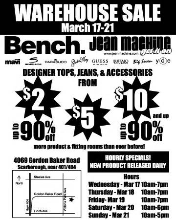 bench warehouse sale jean machine bench warehouse sale canadian freebies