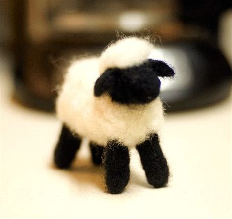 Bastel Ideen Weihnachten 5915 by My Needle Felting Project A Sheepy Made