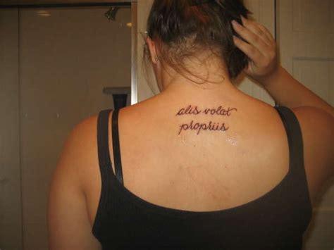 tattoo alis volat propriis significado alis volat propriis tattoo